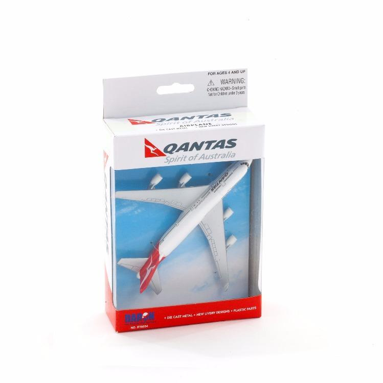 Qantas- Die-cast B747 Model