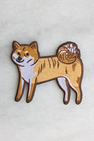 aiko dog patch by Stay Home Club