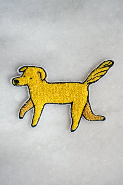 Golden dog Patch sticker patch