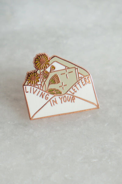 Living in your Letters Pin