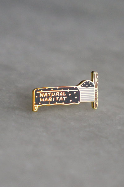 Natural Habitat Pin