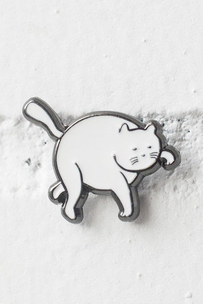 tip toe cat pin | by Stay Home Club