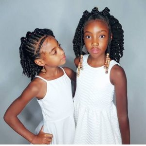 Natural Hairstyles for Kids with Natural Hair
