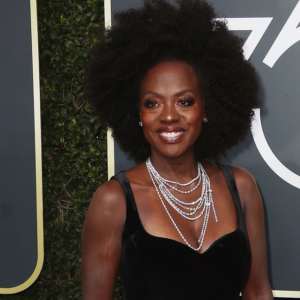 Viola Davis's Natural Hair is Beautiful on the Red Carpet at the 2018 Golden Globes
