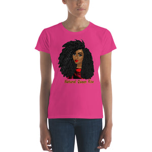 Natural Queen Rise: Women's short sleeve t-shirt