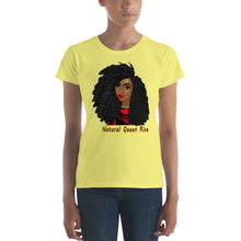Load image into Gallery viewer, Natural Queen Rise: Women's short sleeve t-shirt