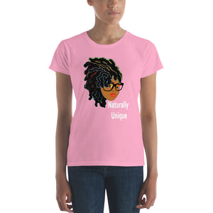 Naturally Unique: Women's short sleeve t-shirt