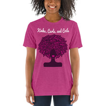 Load image into Gallery viewer, Kinks, Curls, and Coils: Short sleeve t-shirt