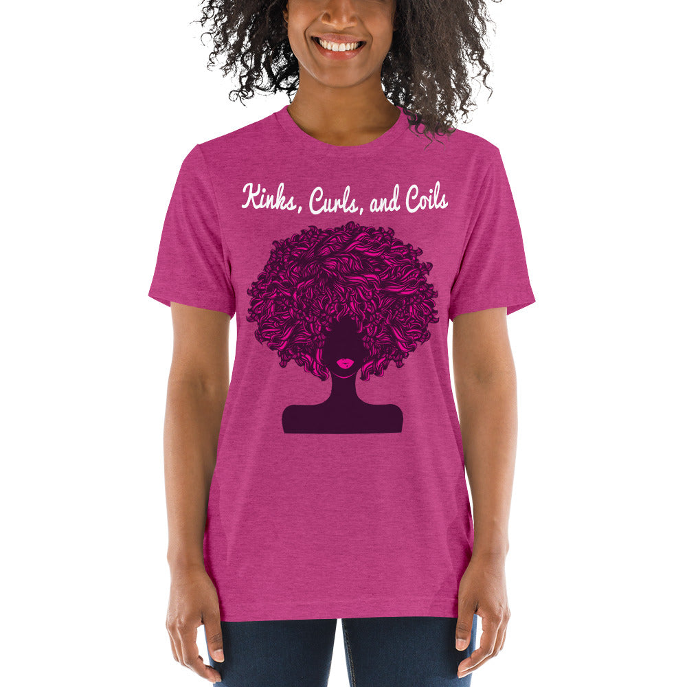Kinks, Curls, and Coils: Short sleeve t-shirt