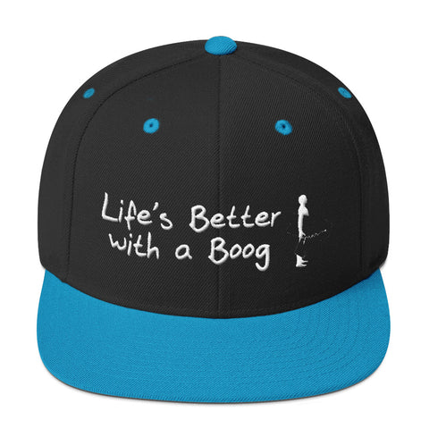 Flat cap Life's Better with a Boog