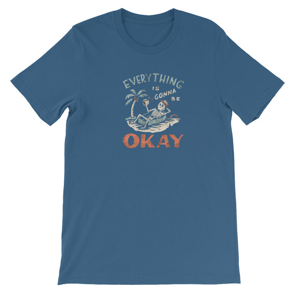 Everything is gonna be okay Short-Sleeve Unisex T-Shirt - Sdoutfit