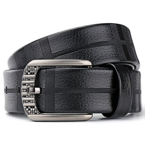 Classic PU Buckle Leisure Men's Belts