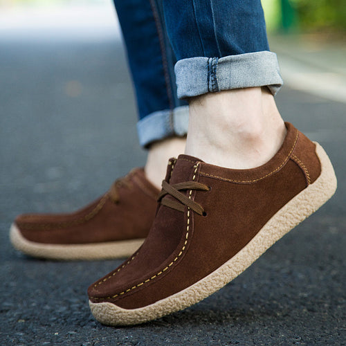 Seams Ventilation Patchwork Men's Casual Shoes