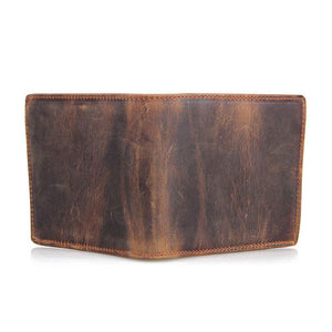 Retro Plain Simple Plain Men's Wallets