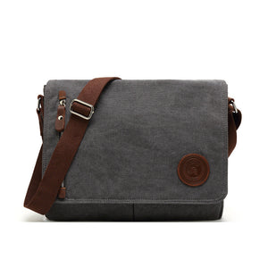 Canvas Cross Style Retro Leisure Crossbody Bag