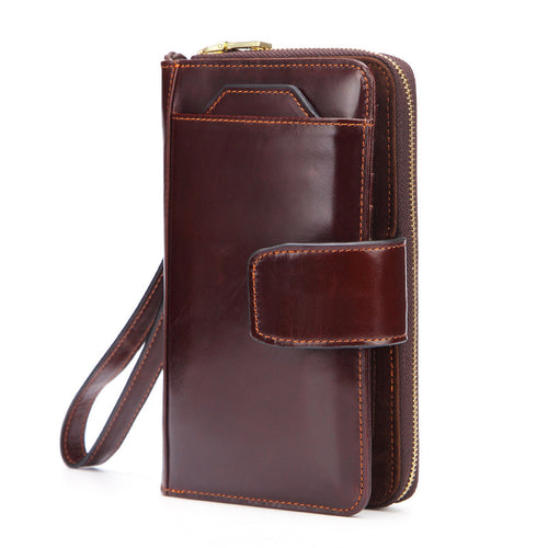 Vintage High Capacity Long Section Men's Wallets