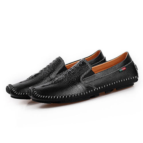 Non-slip Seams Slip On Men's Casual Shoes