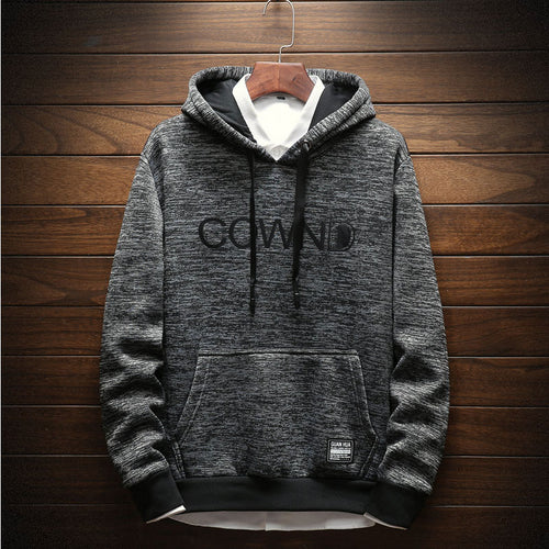 Pocket Hooded Polyester Casual Men's Hoodies