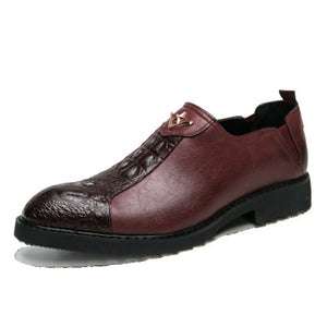 Brock Alligator Skin Men's Formal Shoes