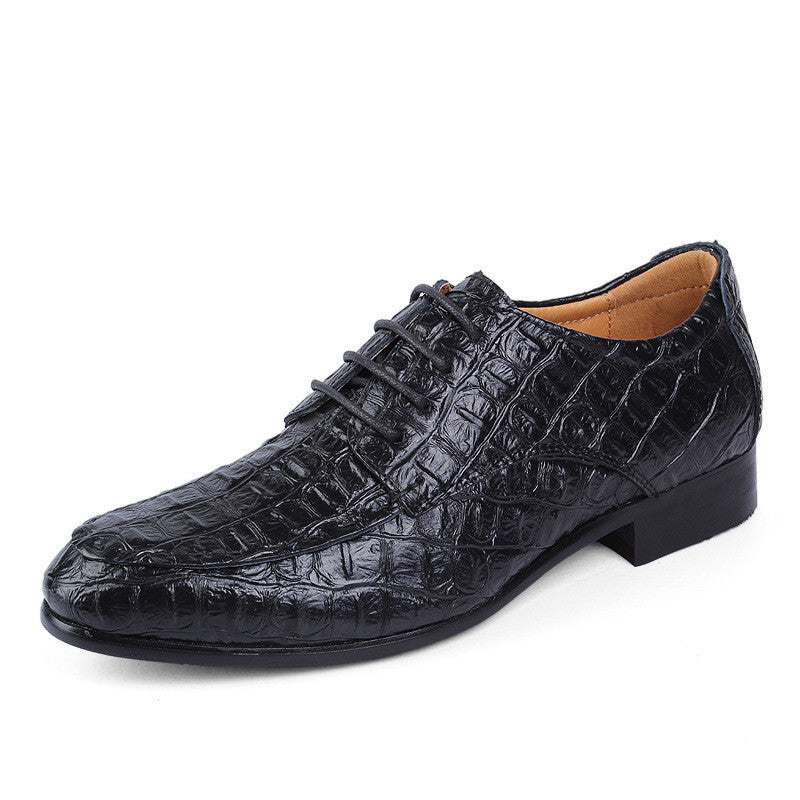 Big Size Genuine Leather Oxford Men's Formal Shoes