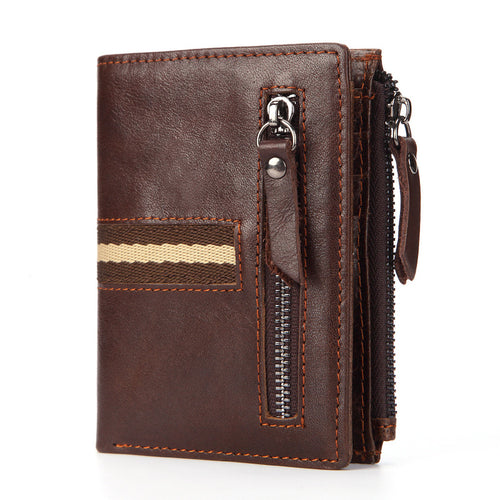 Men's Wallets Genuine Leather Retro Men's Wallets