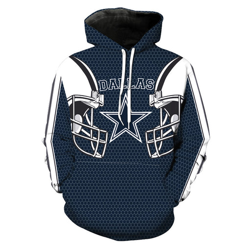 Dallas Cowboys Printed Hoodies