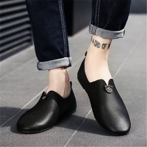 Soft Leather Fashion Joker Men's Casual Shoes