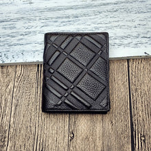 Checkered Business Plain Men's Wallets