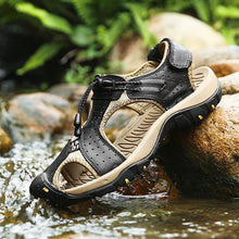 Outdoor Waterproof Beach Men's Slippers
