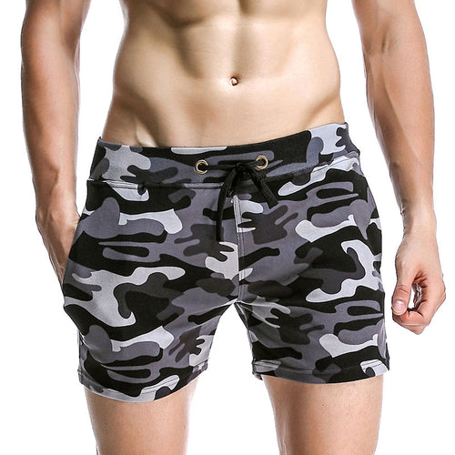 Cotton Camouflage Pocket Men's Pants