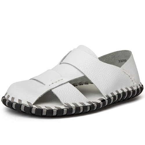 Waterproof And Skid-proof Sewing Men's Sandals