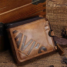 Multifunction Casual Zippered Men's Wallets