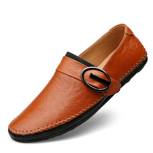 Hand Stitched Soft Bottom Men's Casual Shoes