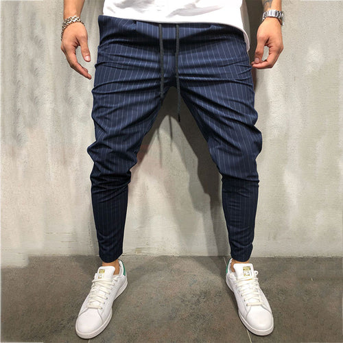 Strip-and-roll Hip-hop Leisure Men's Bottoms