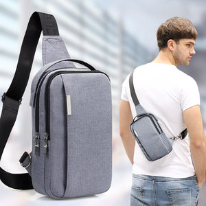 Canvas Casual Korean Version Men's Crossbody Bag