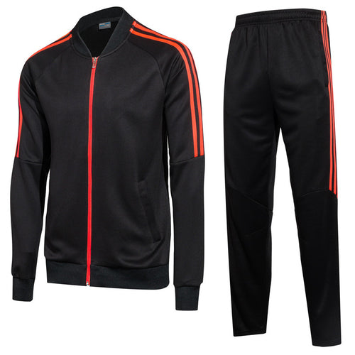Zipper Plain Simple Men's Sports Suits