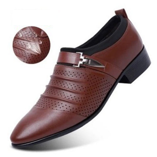 Air Permeability Of Large Pier Men's Formal Shoes
