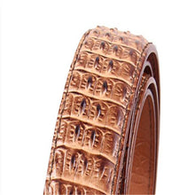 Crocodile Pattern Business Design Men's Belts