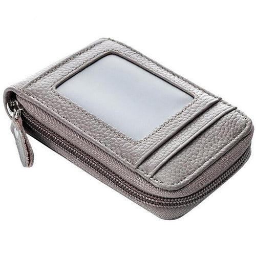 Multi-card Position Zippered Men's Wallets