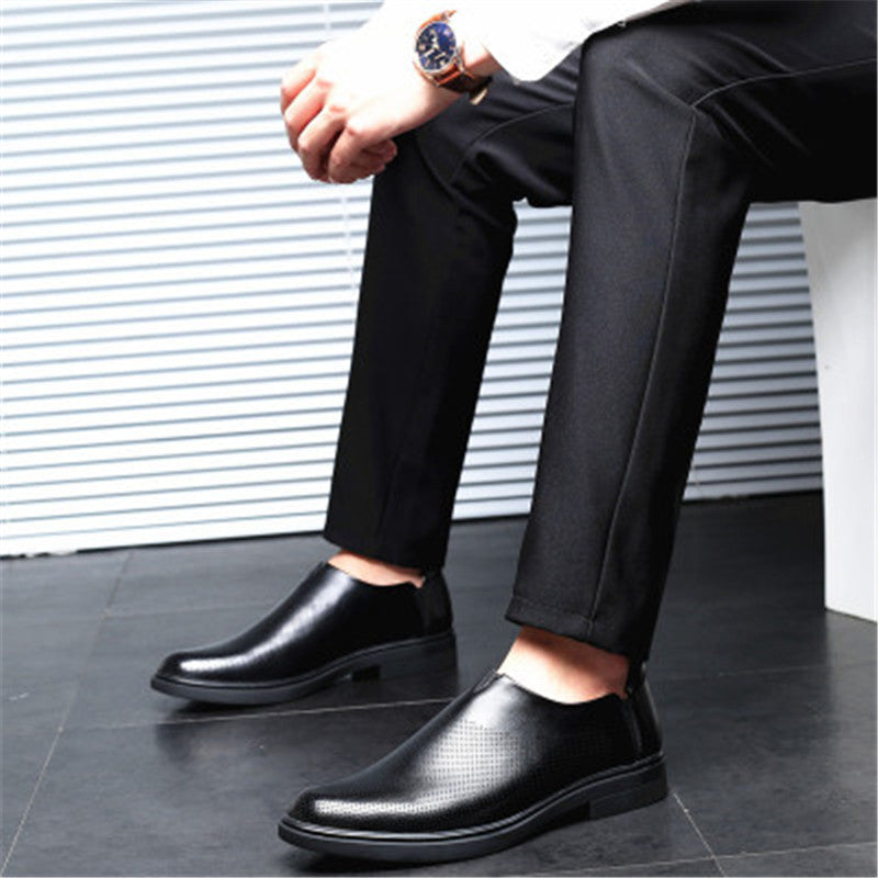 Hollow-out Breathable Business Man's Formal Shoes