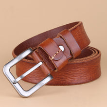 Paint Buckle Leisure Big Size Men's Belts