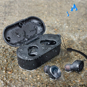 Waterproof Movement Binaural Button Leisure Earphone