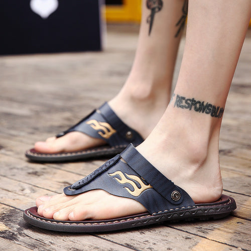 Anti-skid Comfortable And Wearable Men's Slippers