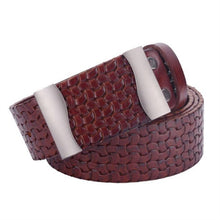 Preparation Grain Plate Buckle Large Size Men's Belts