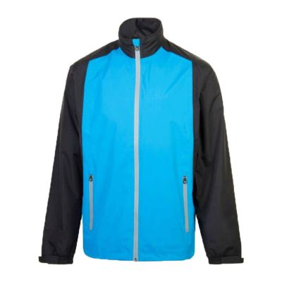 ProQuip Aquastorm Par PX1 Junior Waterproof Jacket (Blue/Black)