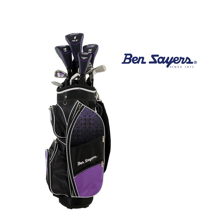 * Ben Sayers M8 Package Set Ladies Graphite Shaft (Purple)