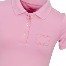 Load image into Gallery viewer, Every Shot Counts - Kingsbarns Girls Golf Polo Shirt (Pink)