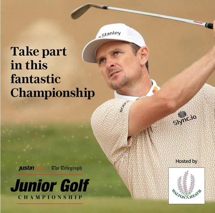 Justin Rose Junior Golf Qualifier 22nd May 2021 12.30pm