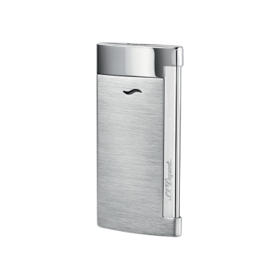 S.T. Dupont - Slim 7 Brushed Chrome Finish Lighter