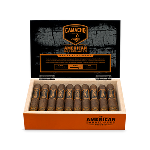 Camacho American Barrel Aged robust Full box